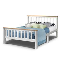 200 X 147cm Artiss Double Full Size Wooden <font><b>Bed</b><