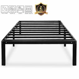 DLISITING Bed Frame No Box Spring Needed 14 18 Inch Metal Pl