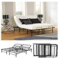 Cal King Size Head Adjustable Lift Bed Frame Easy Control Fo