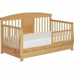 Dream On Me Deluxe Toddler Day Bed, Natural Nursery Furnishi