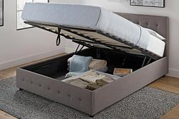 Hydraulic Bed Frame Gas Lift Full or Queen Size with Underbe