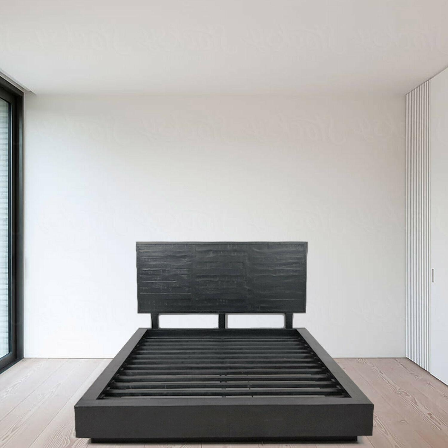 audrey cal king queen size bed frame