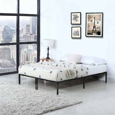 Bed Metal Bed Foundation Frame Queen