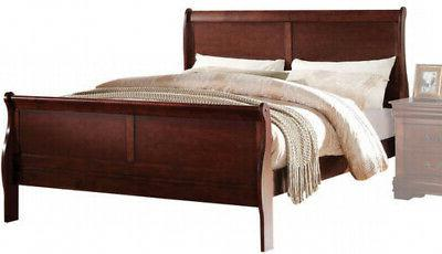 Modern Wooden King Size Bed Frame with
