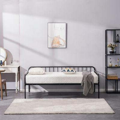 New Metal Size Bed Bed Bottom Space Black