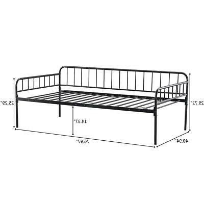 New Size Frame Bed Bottom Enough Space Black