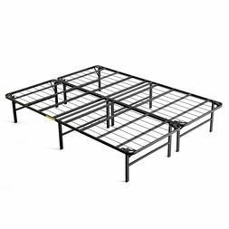 intelliBASE Lightweight Easy Set Up Bi-Fold Platform Queen M