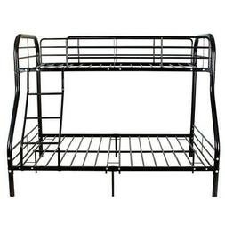 Metal Bunk Beds Frame 250lbs load Twin Over Full Size Ladder