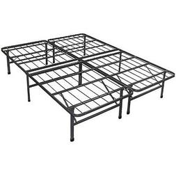 Platform Bed Frame Steel Metal No Box Spring Needed Bed TWIN