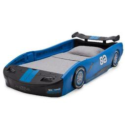 Race Car Bed Frame Twin Size Kid Child Toddler Low Bedroom F
