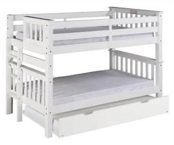 Camaflexi Santa Fe Mission Low Bunk Bed End Ladder with Unde
