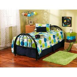 Twin Size Bed Frame Boys Girls Kids Toddlers Farm Country Bl